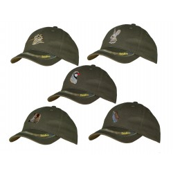 GORRA 5 PANELES BORDADO BECADA - Regulable