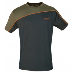 "CAMISETA ""TECHNICAL"" Kaqui/Naranja"