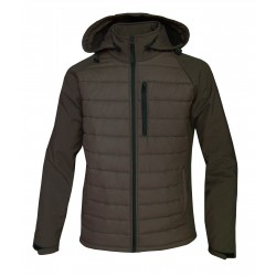 "CHAQUETA GLOBO-SOFT-SHELL ""MARRON"""